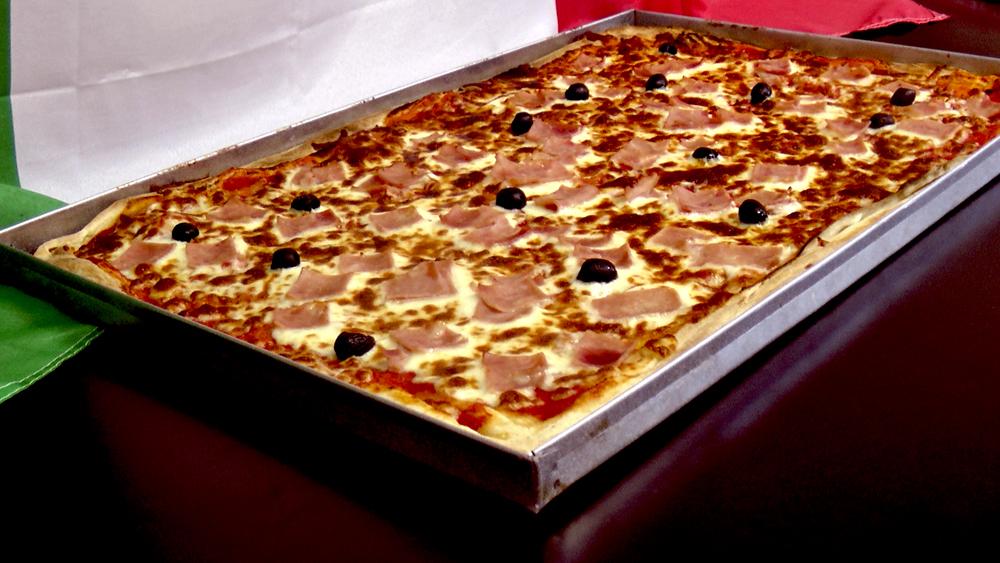 Plaque a pizza